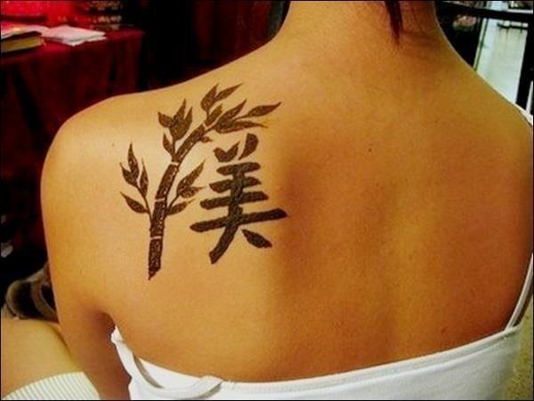 Chinese Symbol Tattoo Designs 13