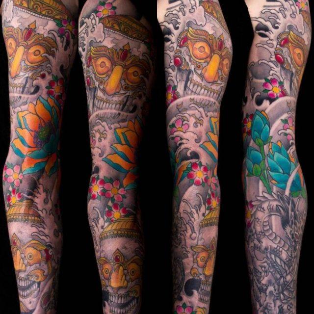 Chinese style sleeve