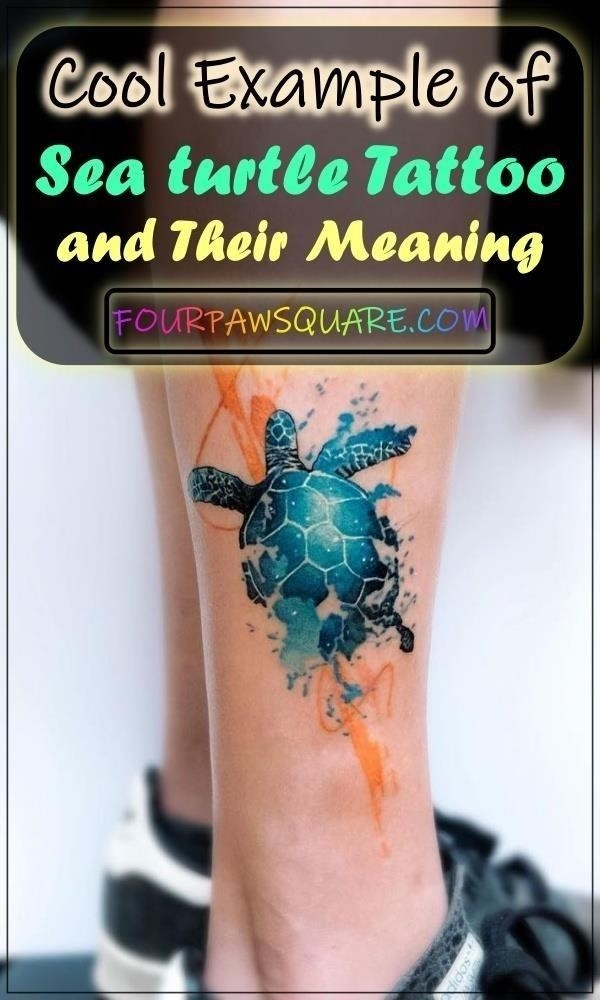 Cool Example of Sea turtle Tattoo and Their Meaning 3 2