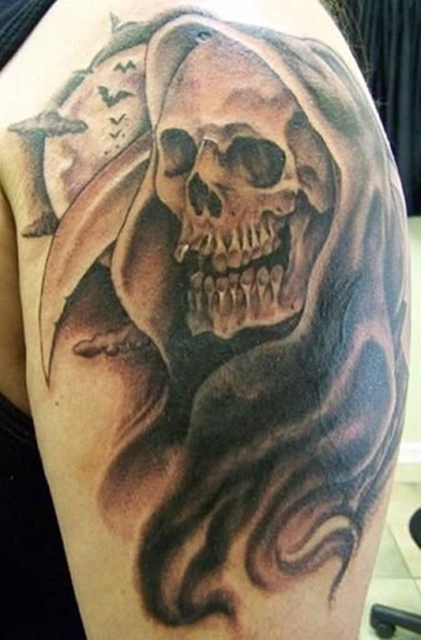 Creative Grim Reaper Tattoos 17