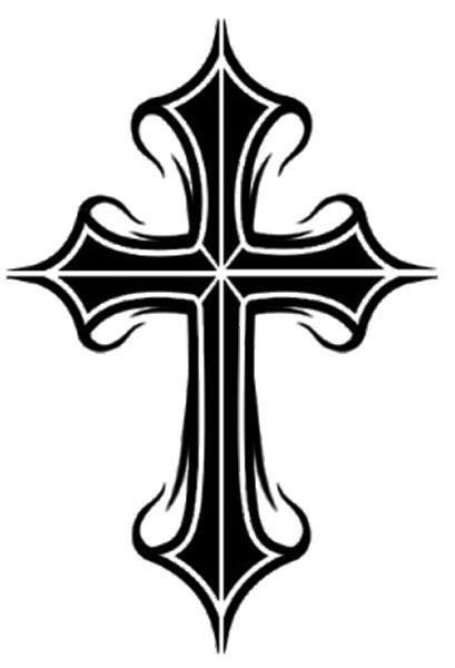 Cross Tribal Tattoos