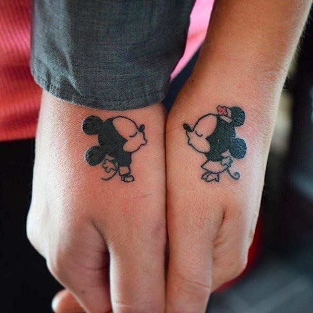 Cute Matching Tattoos for Married Couples