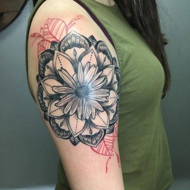 Daisy Flower Tattoo 87 765×765