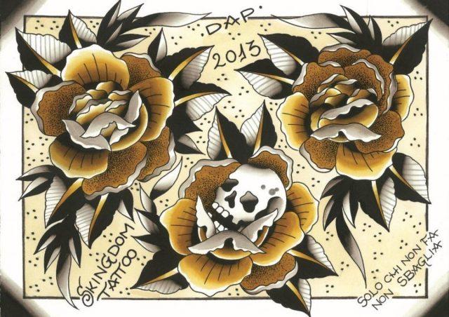 Dap Skingdom Tattoo Mogliano Veneto Italy 113