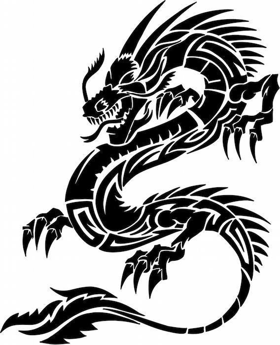 Dragon Tattoo 4