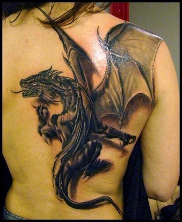 Dragon Tattoo Designs 4