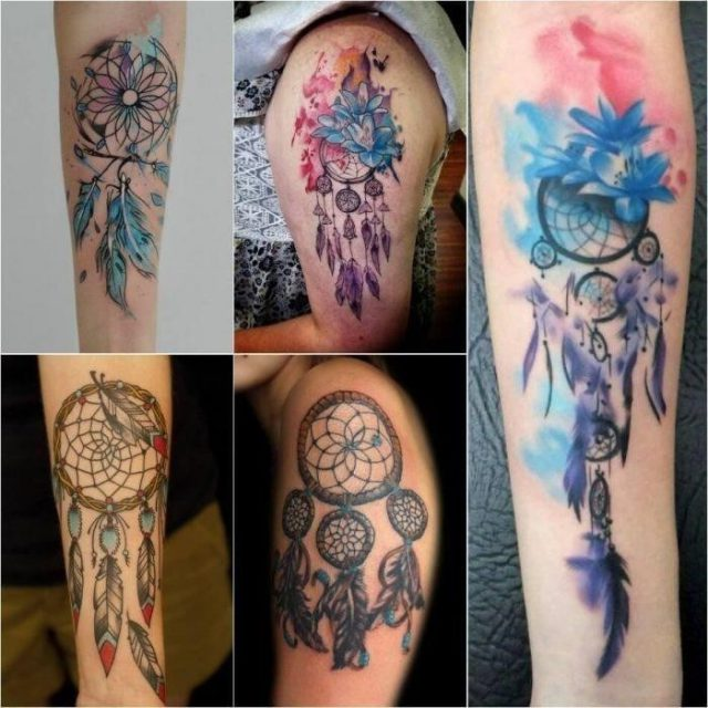 Dreamcatcher Arm Tattoo Dreamcatcher Tattos Dreamcatcher Tattoo Ideas Dreamcatcher Tattoo Meaning 1