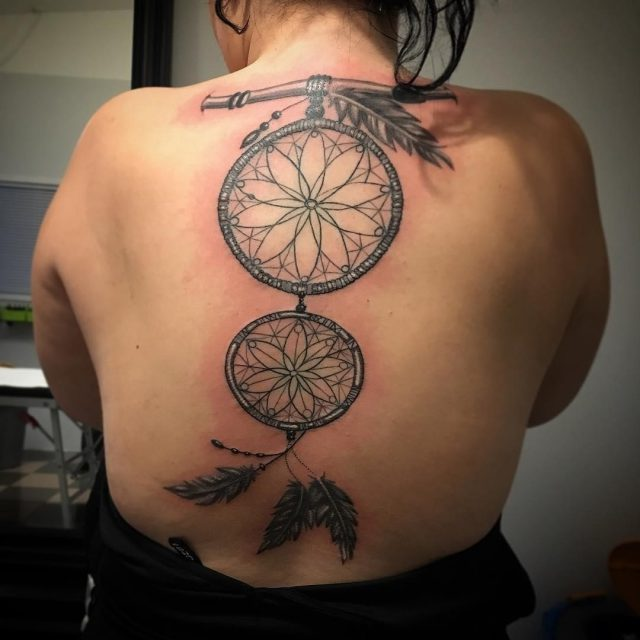 Dreamcatcher Tattoo  7