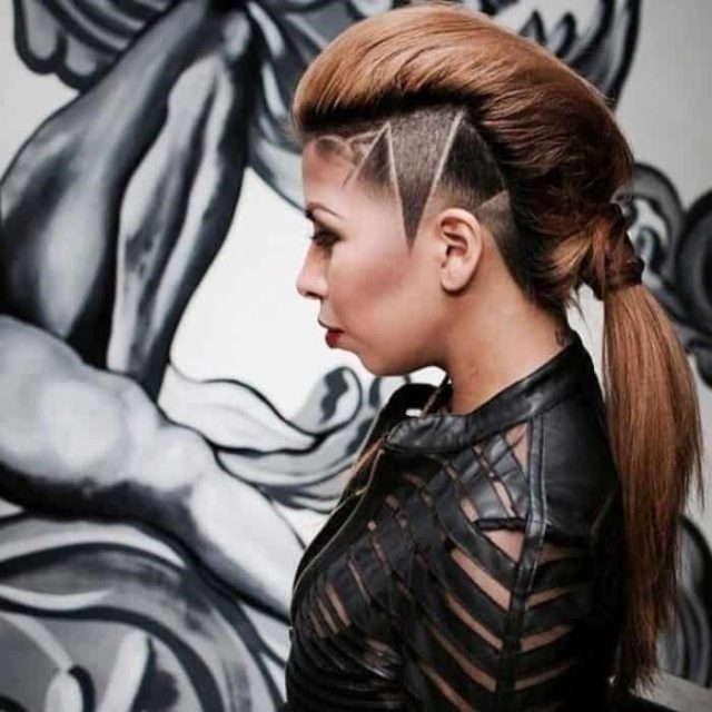 Easy and Simple Hair Tattoos Designs