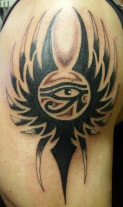 Egyptian Tribal Tattoos