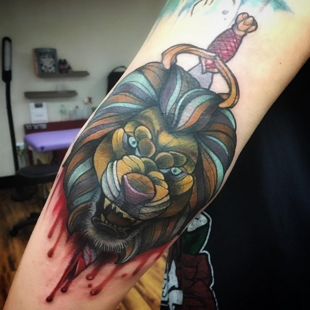 Elbow Tattoos  35