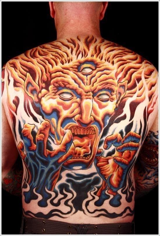 Evil Tattoo Designs 10