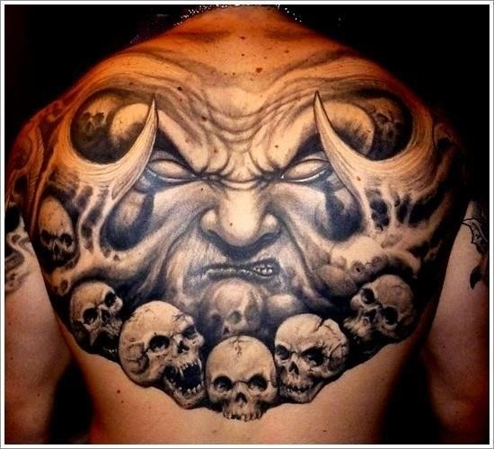 Evil Tattoo Designs 14