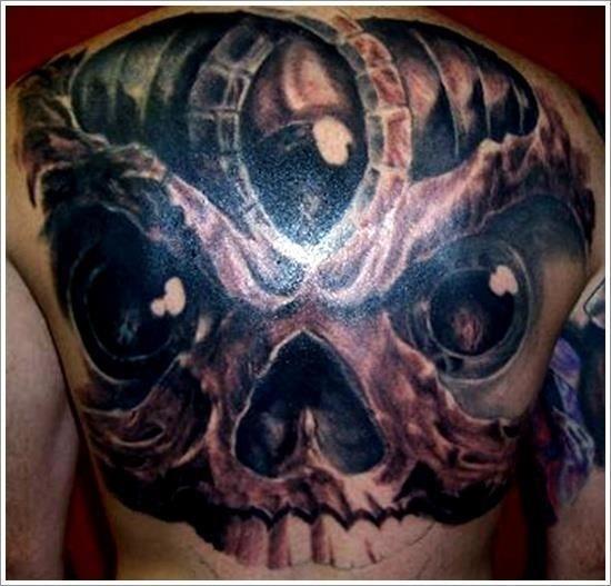 Evil Tattoo Designs 26