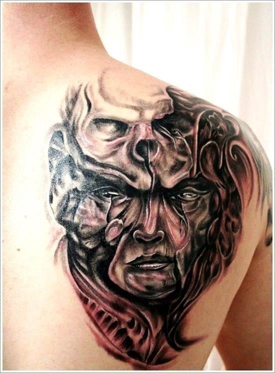 Evil Tattoo Designs 27