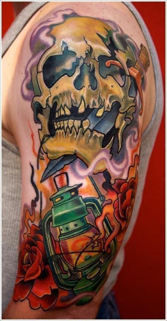 Evil Tattoo Designs 29