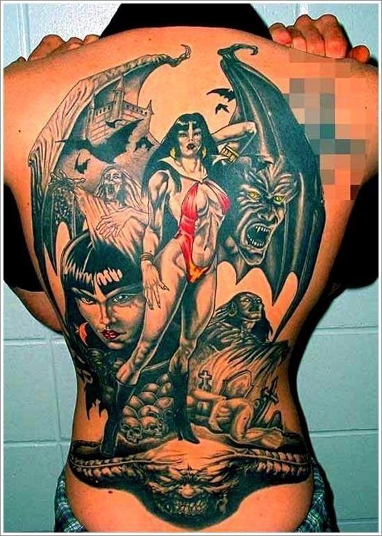Evil Tattoo Designs 5