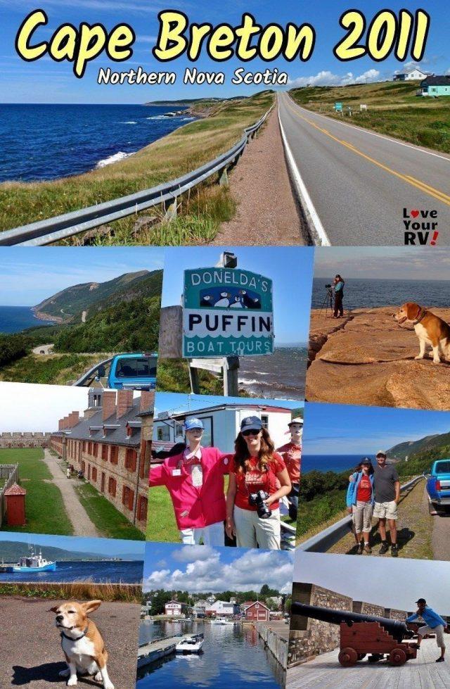 Exploring Cape Breton Island The Cablot Trail and Fort Louisberg Nova Scotia 2011 Throwback Video