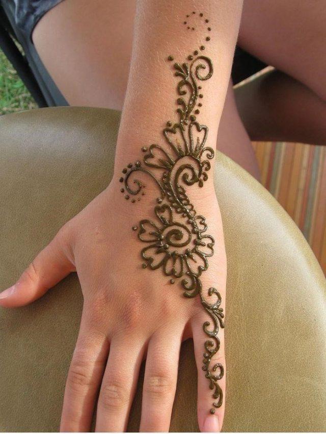 Fabulous Henna Tattoo Ideas