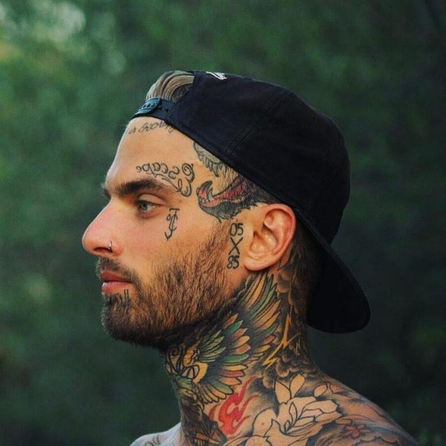 Face Tattoo 66 765×765
