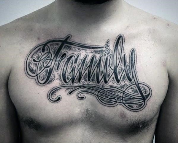 Family on Chest