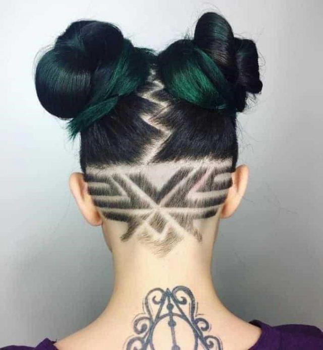 Fantastic Hair Tattoos for Women 2017