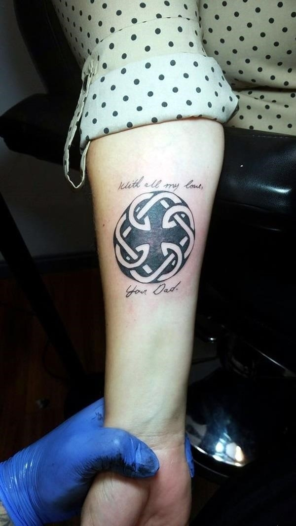 Father and Daughter Tattoos 3 1