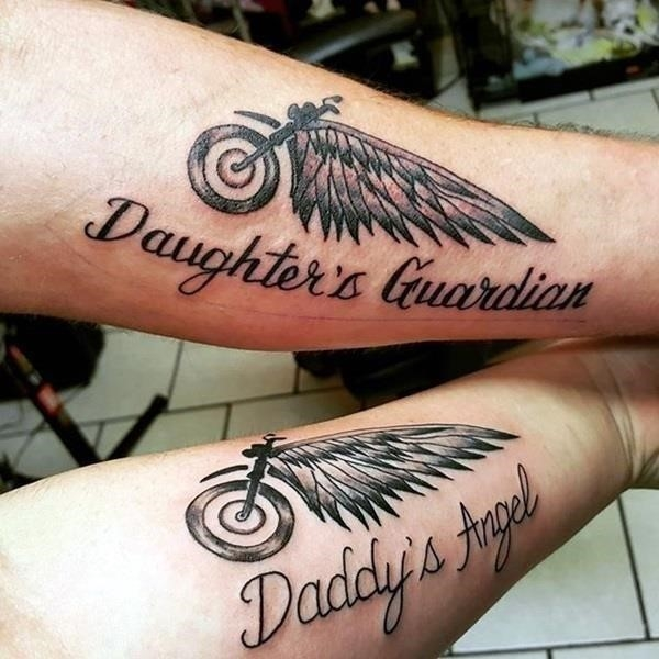 Father and Daughter Tattoos 7