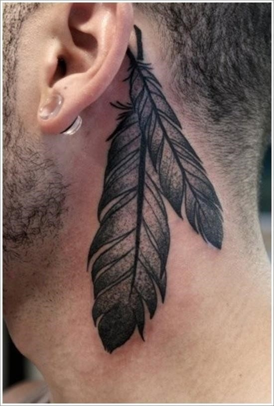 Feather Tattoo Designs 8
