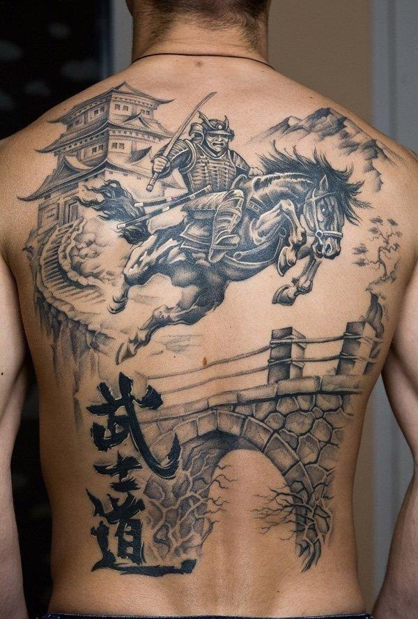 Fighting Warrior Tattoos inspiration 5