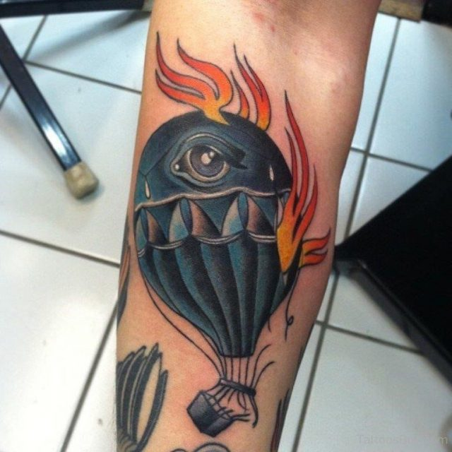 Flame Tattoo 747 TB1051