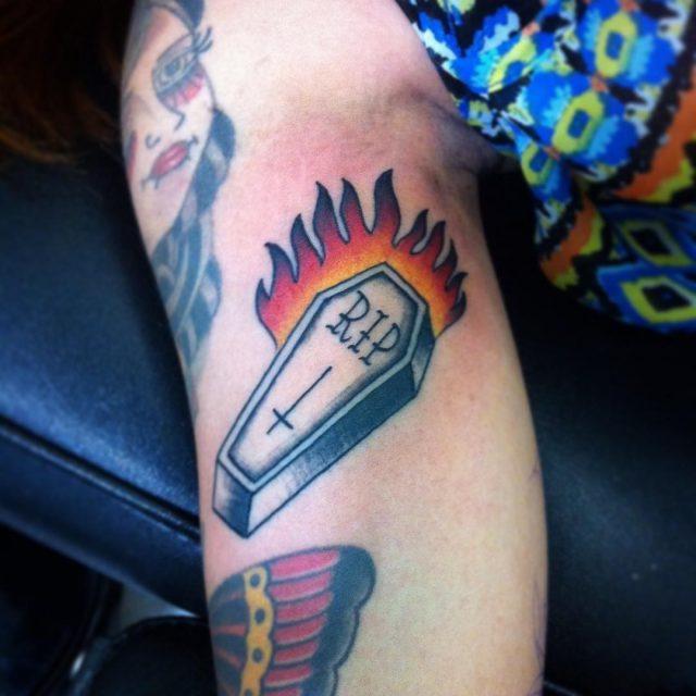 Flame Tattoos  15