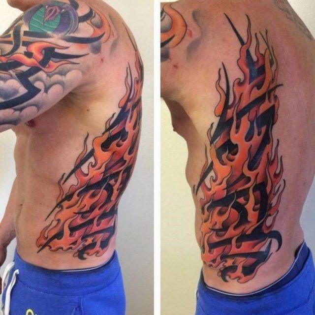 Flame Tattoos  6 650×650