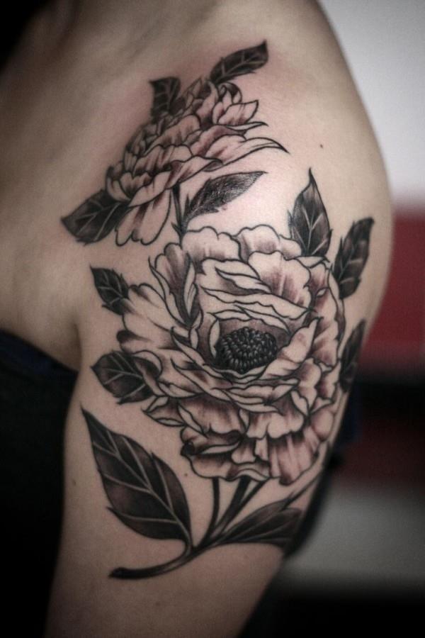 Flower Tattoo Designs for Women 371