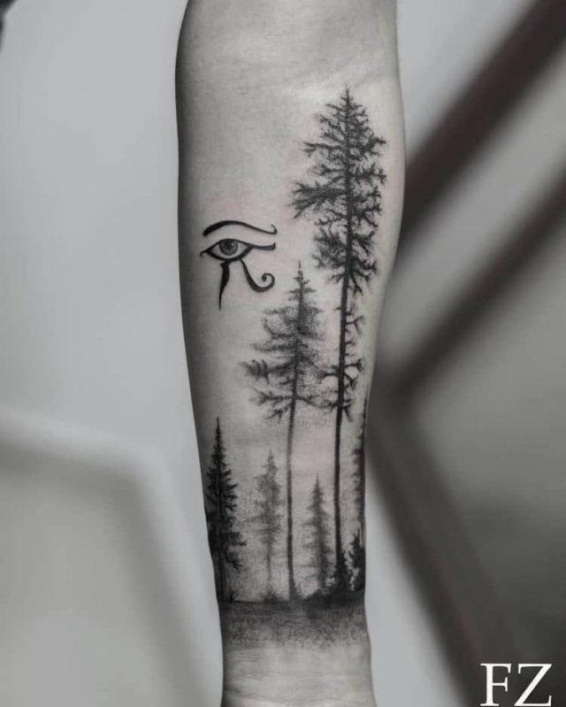 Forest Tattoo 08