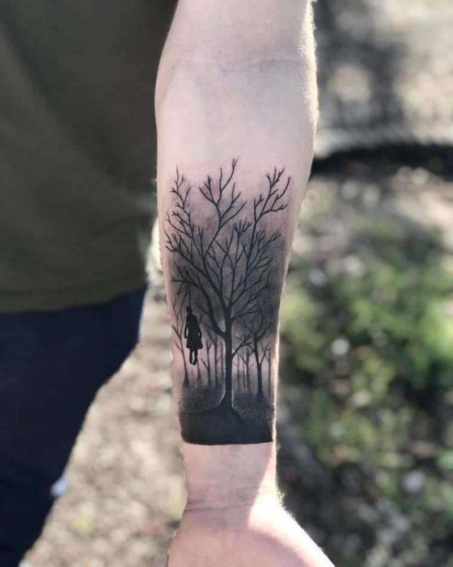 Forest Tattoo 14