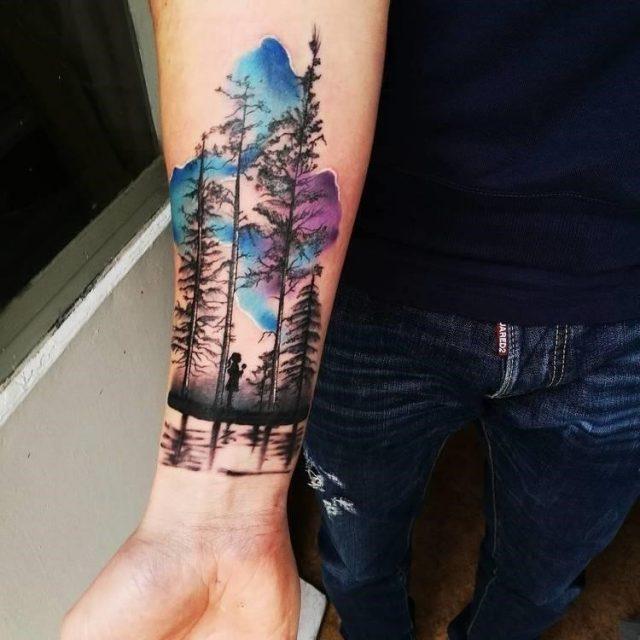 Forest Tattoo 15