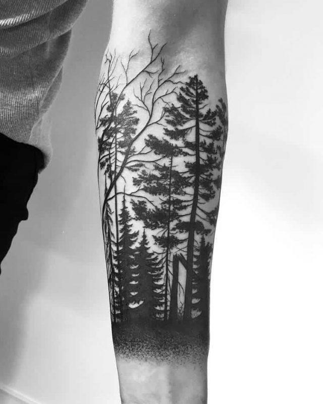 Forest Tattoo 21