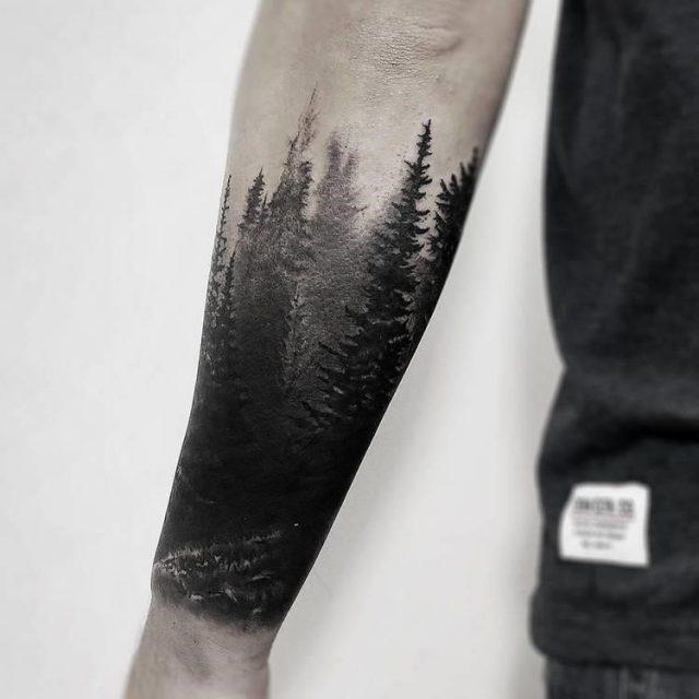 Forest Tattoo 25