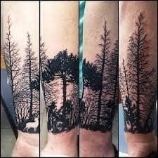 Forest Tattoo Meaning 44