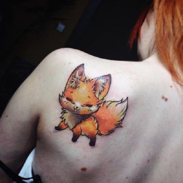 Fox Tattoo Designs 11
