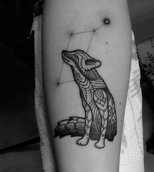 Fox Tattoo Designs 16