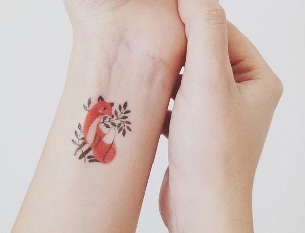 Fox Tattoo Designs 23