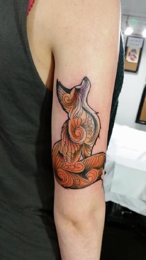 Fox Tattoo Designs 24