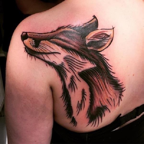 Fox Tattoo Designs 28