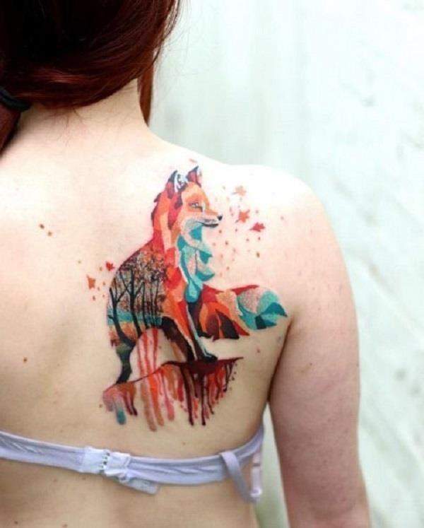 Fox Tattoo Designs 29