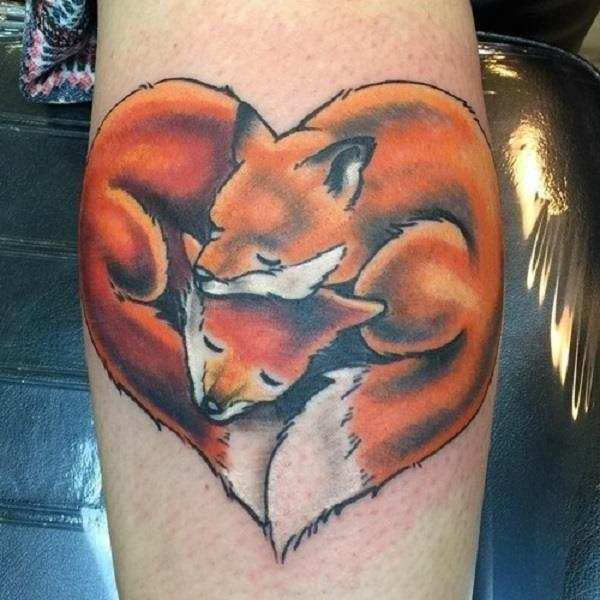 Fox Tattoo Designs 34