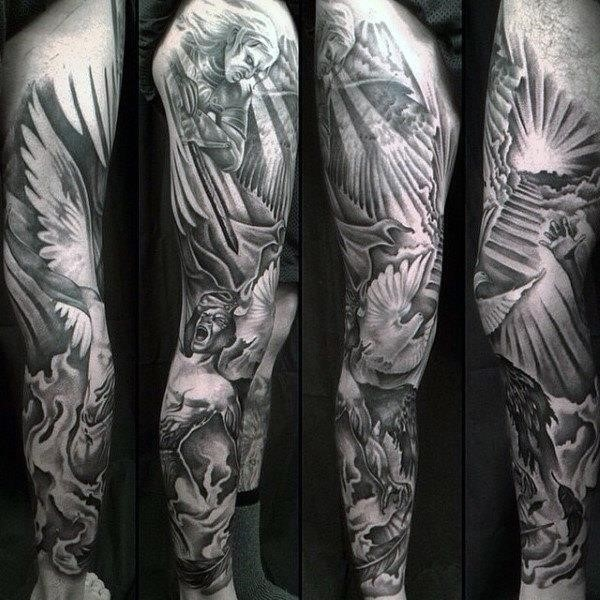 Full Arm Religious Sleeve