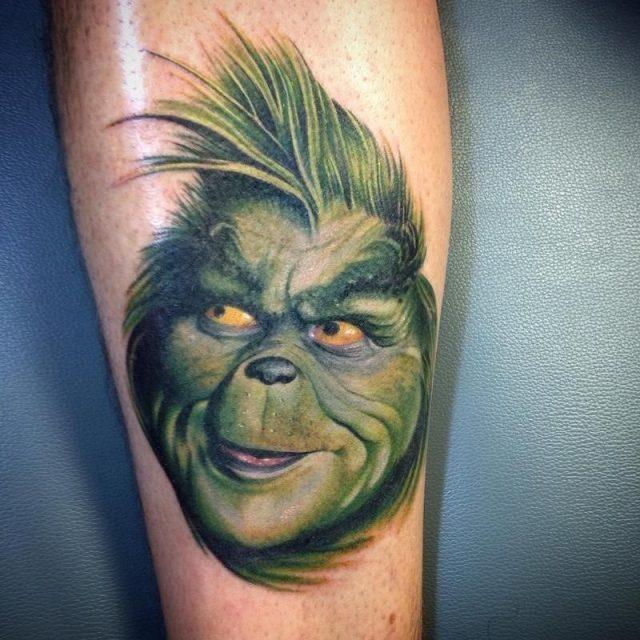 Funny Face Tattoo Design