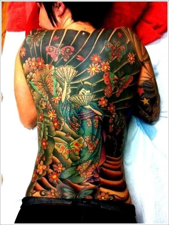 Geisha Tattoo Designs 24